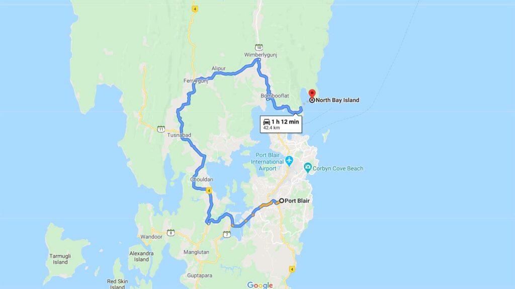 Port Blair To North Bay